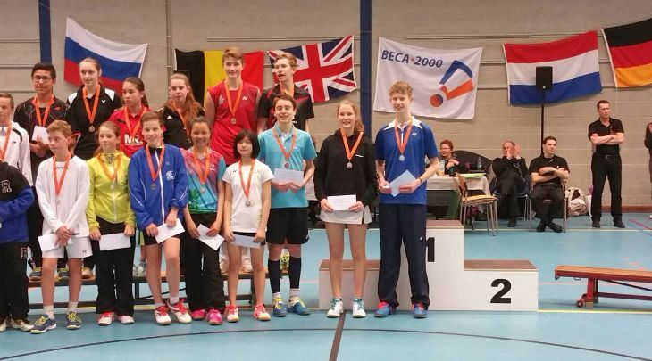 Internationaal badminton jeugdtoernooi BECA 2000
